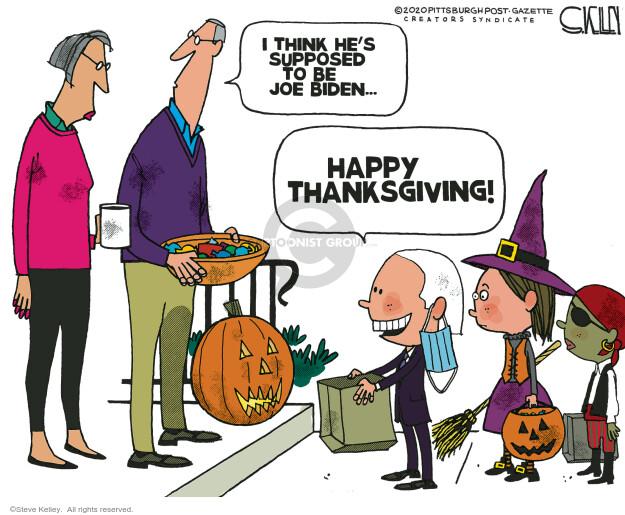 Steve Kelley  Steve Kelley's Editorial Cartoons 2020-10-11 candidacy