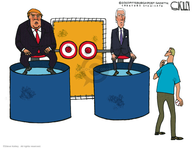 Steve Kelley  Steve Kelley's Editorial Cartoons 2020-11-01 democrat