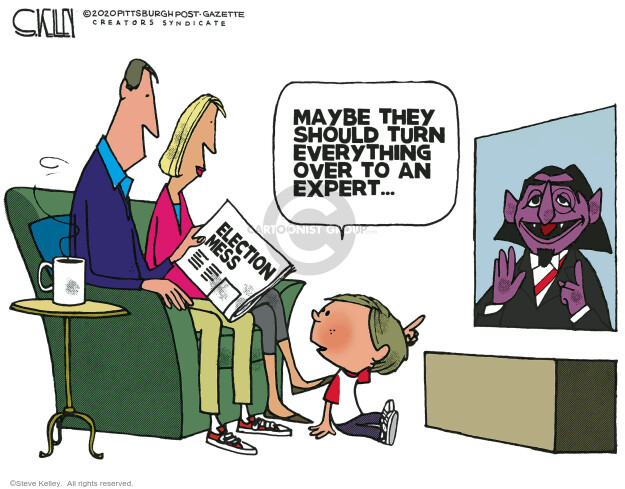 Steve Kelley  Steve Kelley's Editorial Cartoons 2020-11-12 editorial