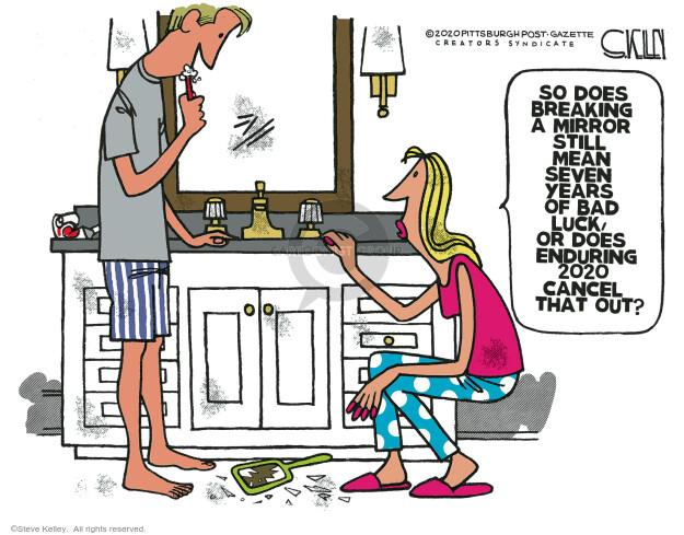 Steve Kelley  Steve Kelley's Editorial Cartoons 2020-12-13 Steve