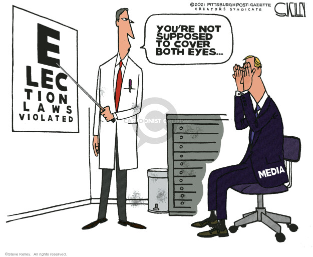 Steve Kelley  Steve Kelley's Editorial Cartoons 2021-01-03 media