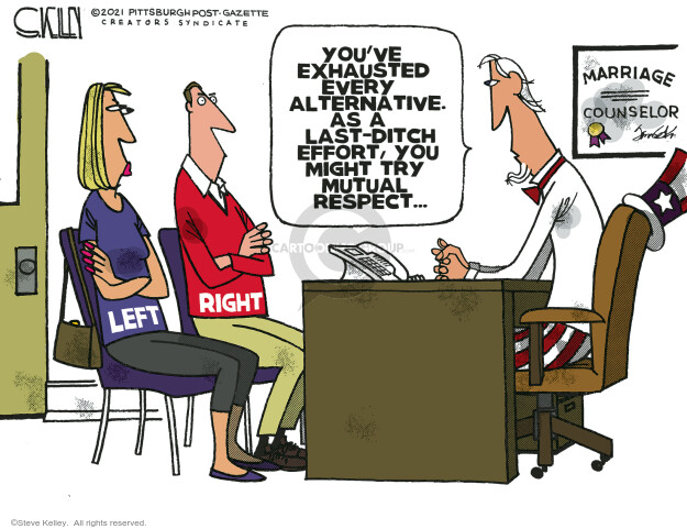 Steve Kelley  Steve Kelley's Editorial Cartoons 2021-01-10 democrat