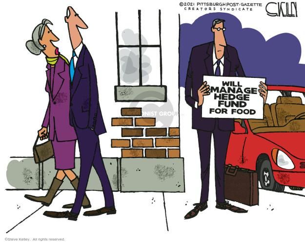Steve Kelley  Steve Kelley's Editorial Cartoons 2021-01-31 street