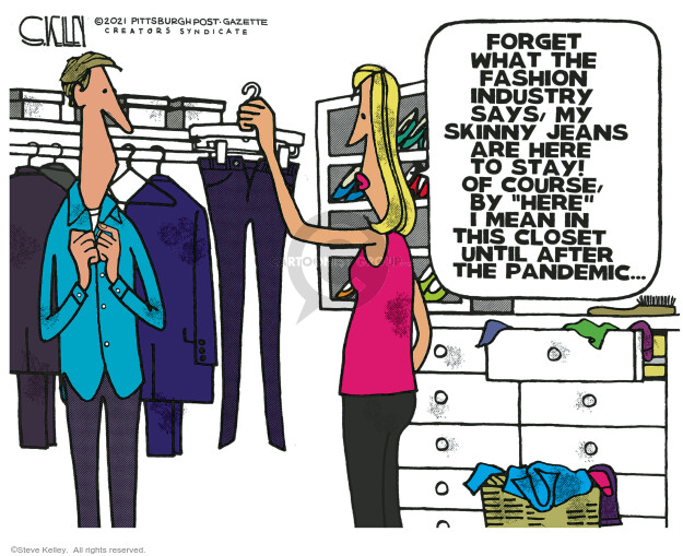 Steve Kelley  Steve Kelley's Editorial Cartoons 2021-02-07 crisis