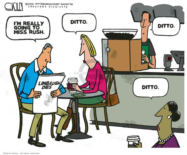 Steve Kelley  Steve Kelley's Editorial Cartoons 2021-02-19 editorial