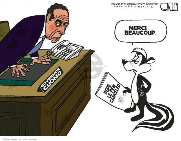 Steve Kelley  Steve Kelley's Editorial Cartoons 2021-03-12 editorial