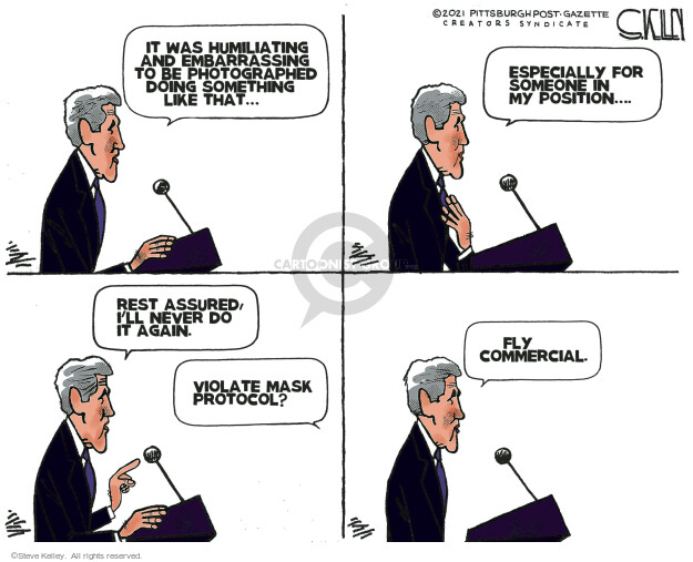 Steve Kelley  Steve Kelley's Editorial Cartoons 2021-03-19 editorial