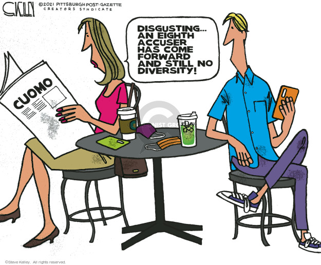 Steve Kelley  Steve Kelley's Editorial Cartoons 2021-03-29 editorial