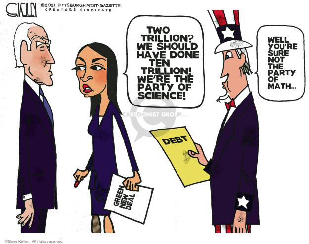 Steve Kelley  Steve Kelley's Editorial Cartoons 2021-04-04 infrastructure