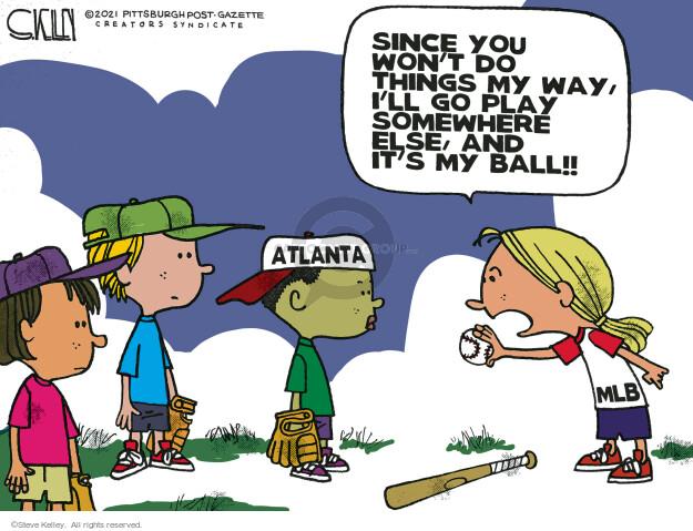 Steve Kelley  Steve Kelley's Editorial Cartoons 2021-04-08 suppression