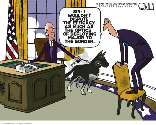 Steve Kelley  Steve Kelley's Editorial Cartoons 2021-04-09 policy