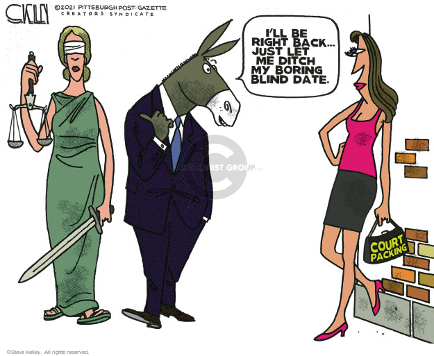 Steve Kelley  Steve Kelley's Editorial Cartoons 2021-04-16 democrat