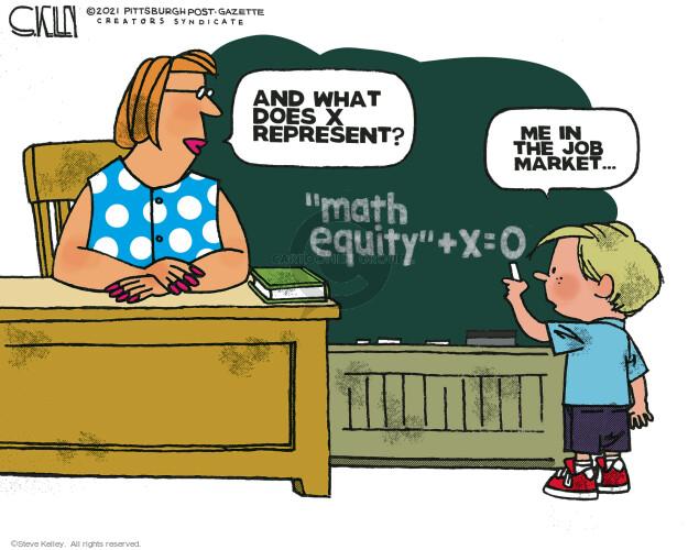 Steve Kelley's Editorial Cartoons - Math Comics And Cartoons | The  Cartoonist Group