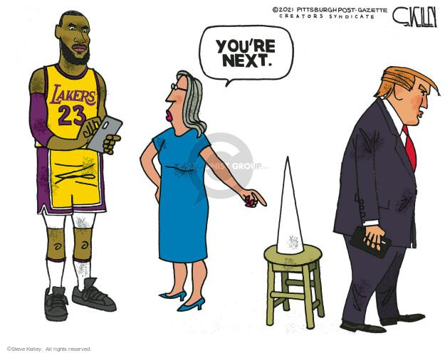 Steve Kelley  Steve Kelley's Editorial Cartoons 2021-04-25 editorial