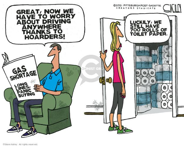 Steve Kelley  Steve Kelley's Editorial Cartoons 2021-05-14 editorial