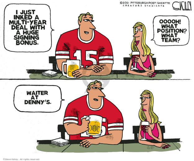Steve Kelley  Steve Kelley's Editorial Cartoons 2021-05-20 editorial