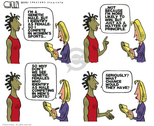 Steve Kelley  Steve Kelley's Editorial Cartoons 2021-05-28 chance