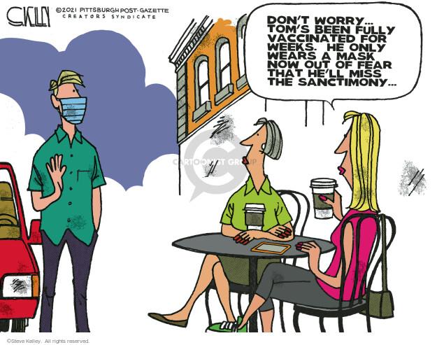 Steve Kelley  Steve Kelley's Editorial Cartoons 2021-05-30 COVID vaccine