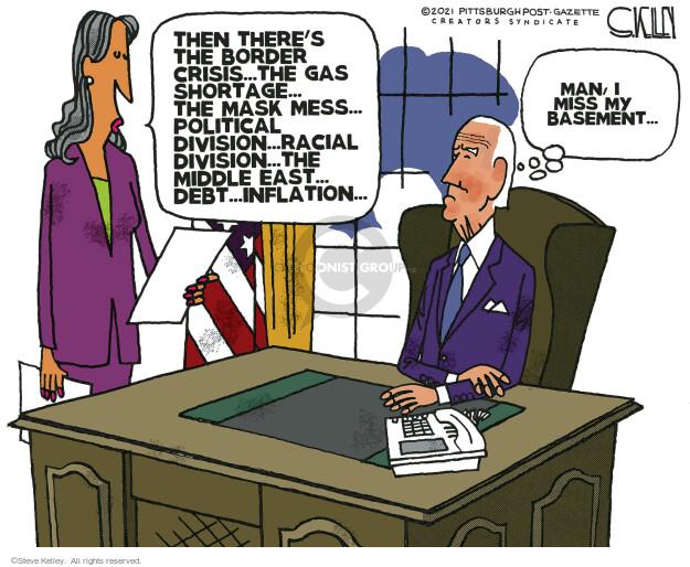 Steve Kelley  Steve Kelley's Editorial Cartoons 2021-06-03 policy