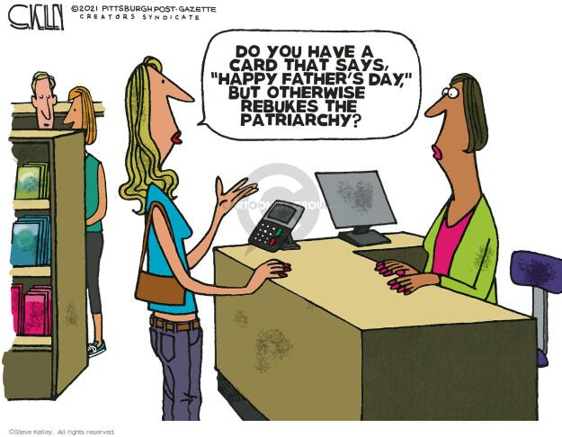 Steve Kelley  Steve Kelley's Editorial Cartoons 2021-06-20 editorial