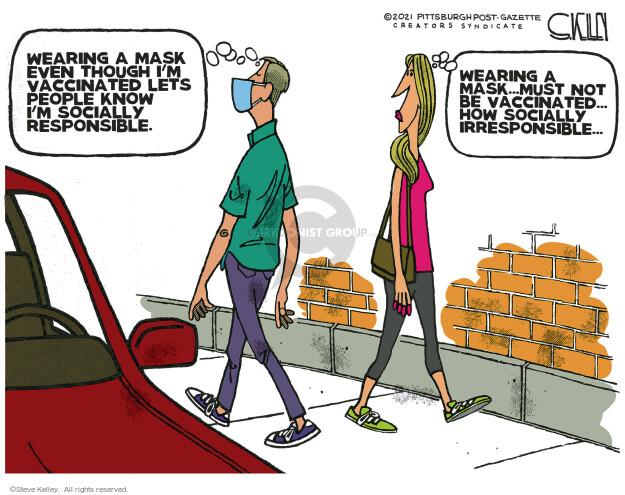 Steve Kelley  Steve Kelley's Editorial Cartoons 2021-06-22 COVID vaccine