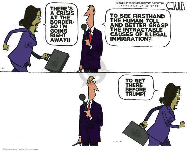 Steve Kelley  Steve Kelley's Editorial Cartoons 2021-06-25 vice president