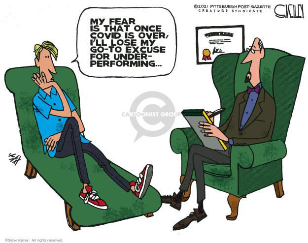 Steve Kelley  Steve Kelley's Editorial Cartoons 2021-06-27 editorial