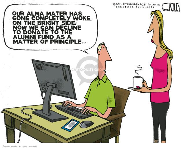 Steve Kelley  Steve Kelley's Editorial Cartoons 2021-07-23 have
