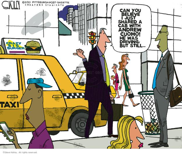 Steve Kelley  Steve Kelley's Editorial Cartoons 2021-08-27 politics
