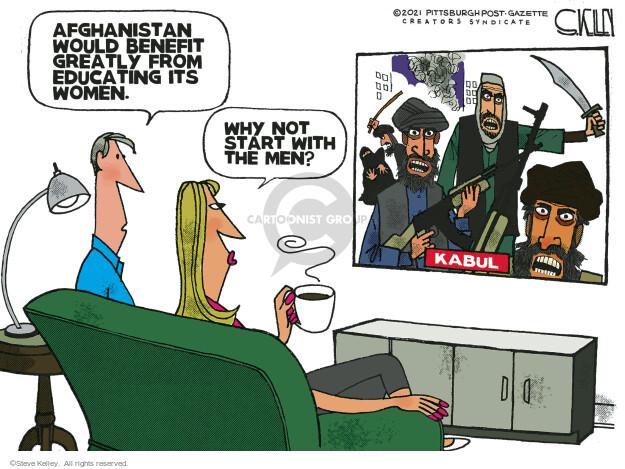 Steve Kelley  Steve Kelley's Editorial Cartoons 2021-08-29 would