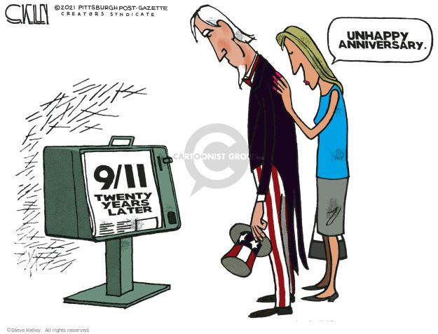 Steve Kelley  Steve Kelley's Editorial Cartoons 2021-09-12 2001