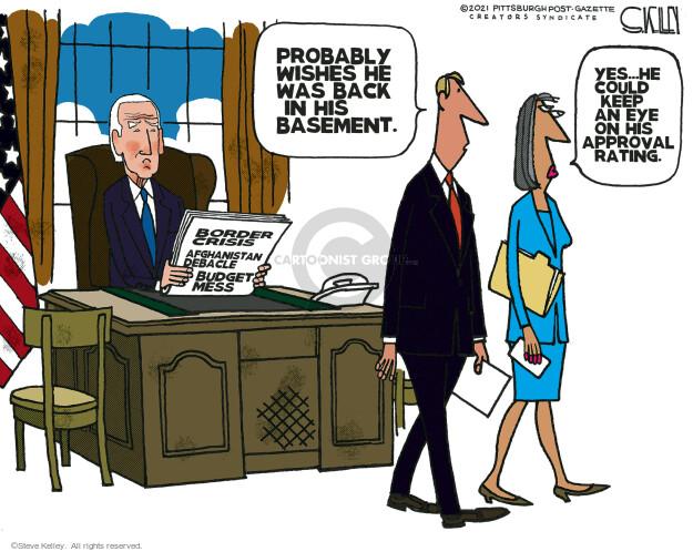 Steve Kelley  Steve Kelley's Editorial Cartoons 2021-09-26 politics