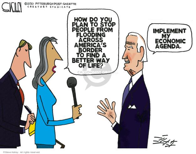 Steve Kelley  Steve Kelley's Editorial Cartoons 2021-10-07 infrastructure