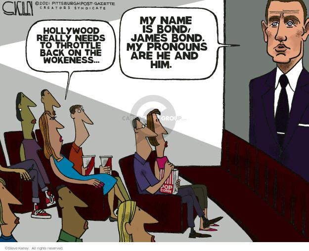 Steve Kelley  Steve Kelley's Editorial Cartoons 2021-10-14 identity