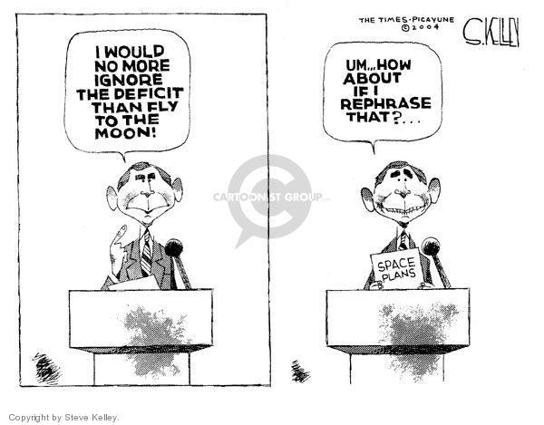 Steve Kelley  Steve Kelley's Editorial Cartoons 2004-01-30 integrity