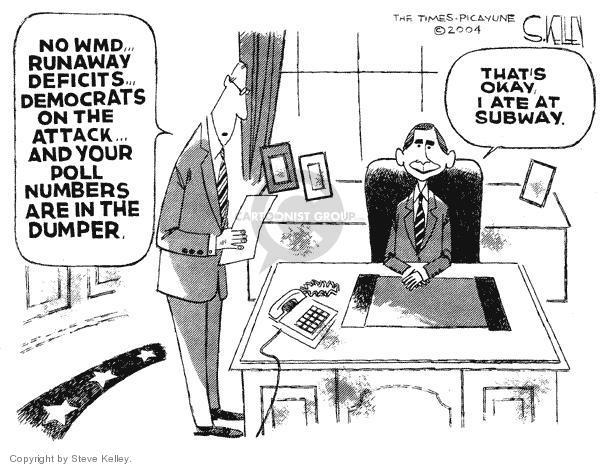 Steve Kelley  Steve Kelley's Editorial Cartoons 2004-02-06 number