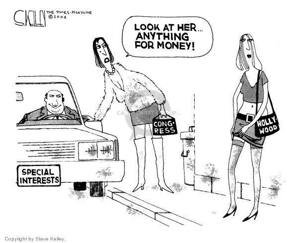Cartoonist Steve Kelley  Steve Kelley's Editorial Cartoons 2004-02-13 sell
