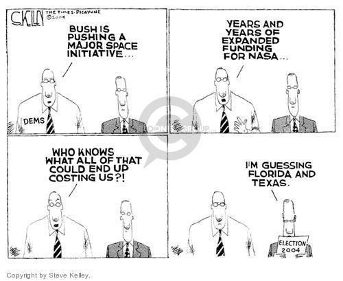 Steve Kelley  Steve Kelley's Editorial Cartoons 2004-01-18 Texas