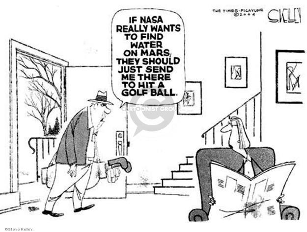 Steve Kelley  Steve Kelley's Editorial Cartoons 2004-01-19 water