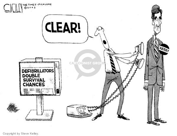 Steve Kelley  Steve Kelley's Editorial Cartoons 2003-11-13 chance