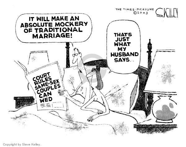 Steve Kelley  Steve Kelley's Editorial Cartoons 2003-11-20 rule