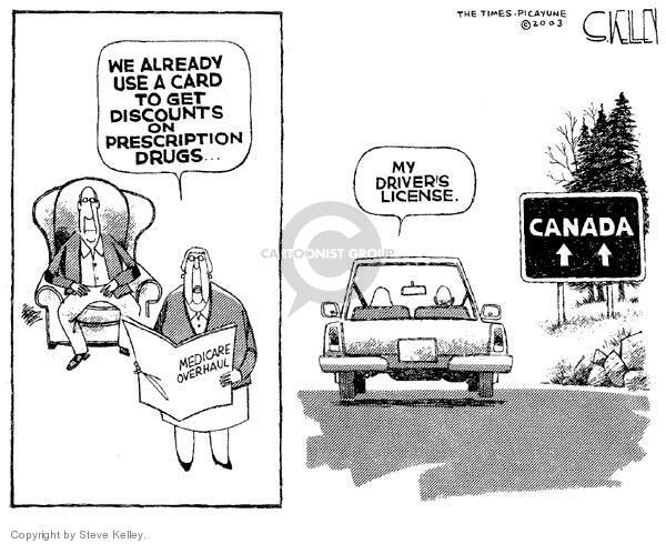 Cartoonist Steve Kelley  Steve Kelley's Editorial Cartoons 2003-12-03 border