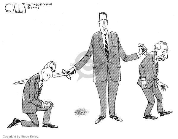 Steve Kelley  Steve Kelley's Editorial Cartoons 2003-12-10 vice