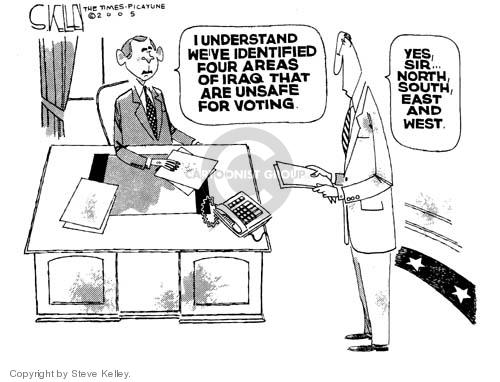 Cartoonist Steve Kelley  Steve Kelley's Editorial Cartoons 2005-01-11 sir