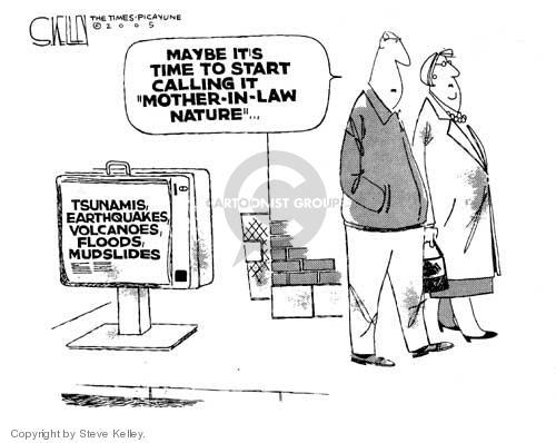 Steve Kelley  Steve Kelley's Editorial Cartoons 2005-01-13 political family
