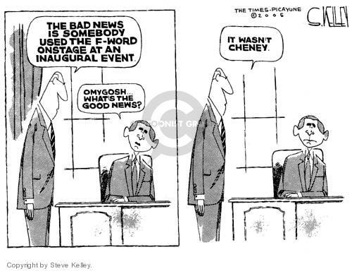 Steve Kelley  Steve Kelley's Editorial Cartoons 2005-01-20 vice