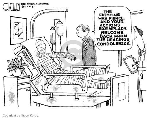 Cartoonist Steve Kelley  Steve Kelley's Editorial Cartoons 2005-01-27 action