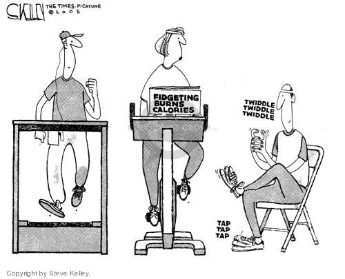 Cartoonist Steve Kelley  Steve Kelley's Editorial Cartoons 2005-01-31 weight