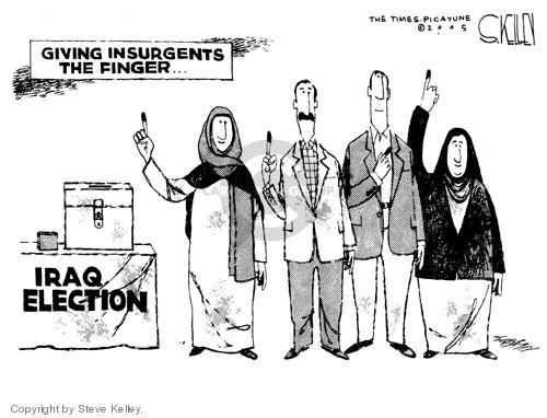 Cartoonist Steve Kelley  Steve Kelley's Editorial Cartoons 2005-02-01 flip