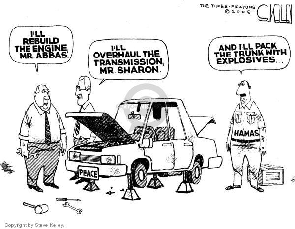 Steve Kelley  Steve Kelley's Editorial Cartoons 2005-02-10 Middle East